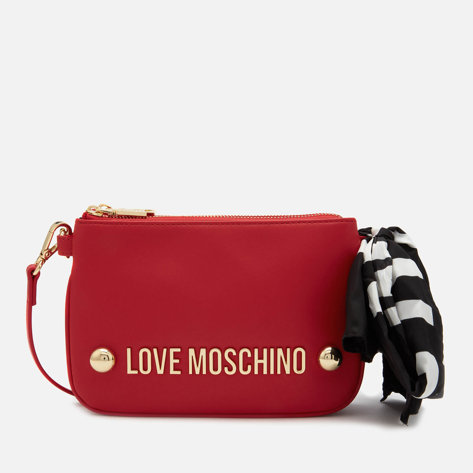 5c29b2f1d Love Moschino Women's Scarf Shoulder Bag - Red
