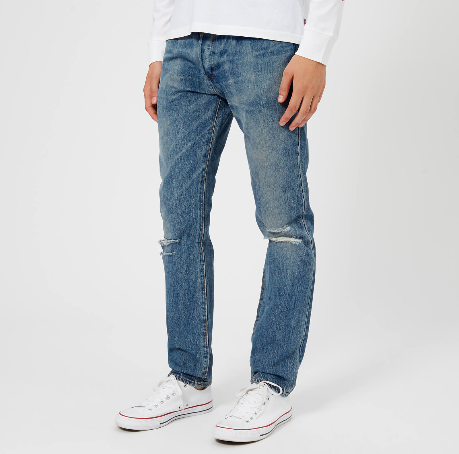 f568f13fdfe Levi's Men's 501 Skinny Jeans - Single Payer Warp - Free UK Delivery over  £50