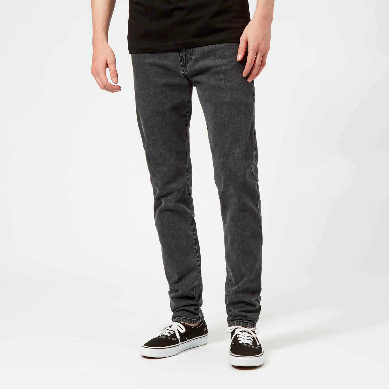 uk availability 319a5 97cfb McQ Alexander McQueen Men's Mismatched Strummer Jeans - Grey Denim