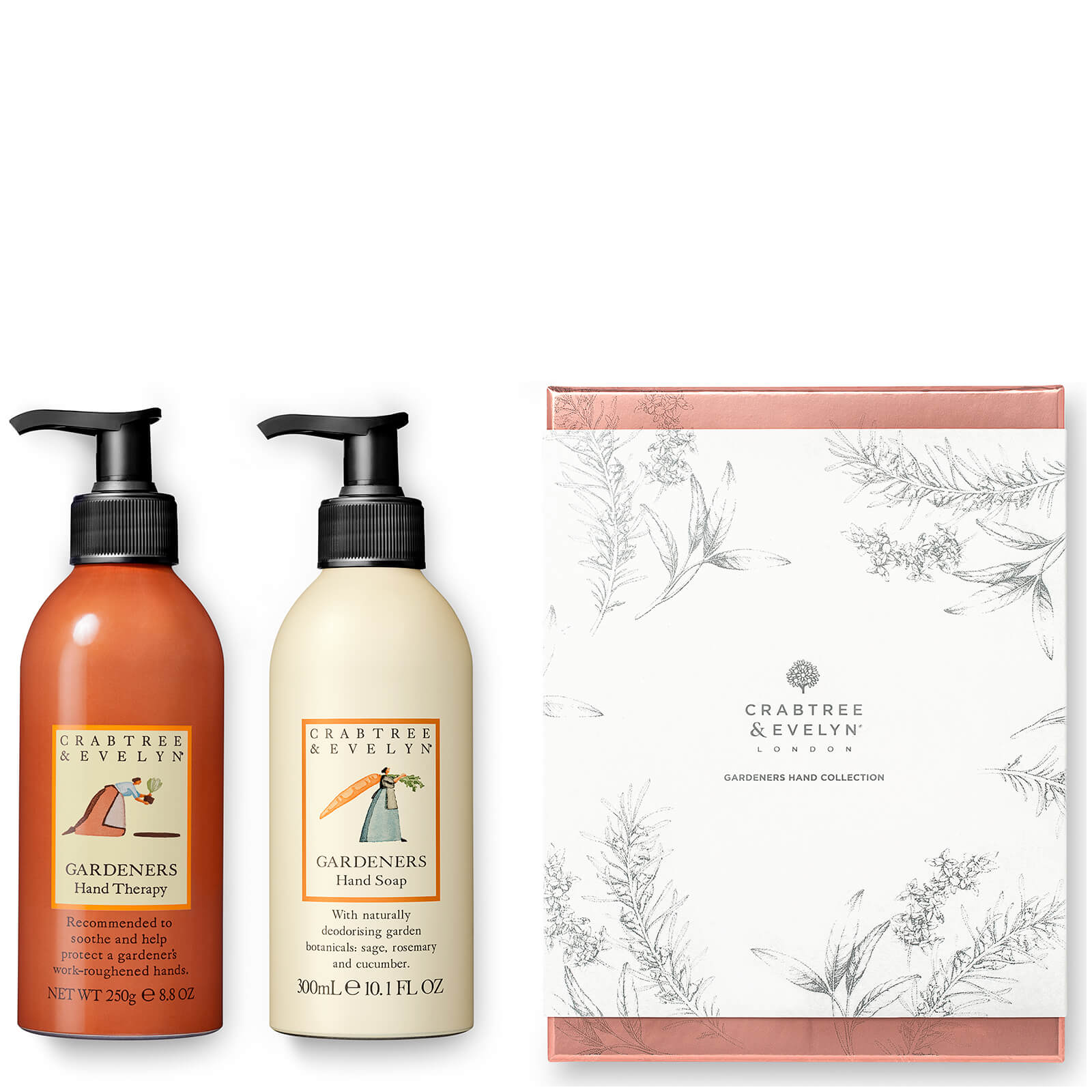 Crabtree & Evelyn Gardeners Hand Collection Duo Collection (Worth £39.00)