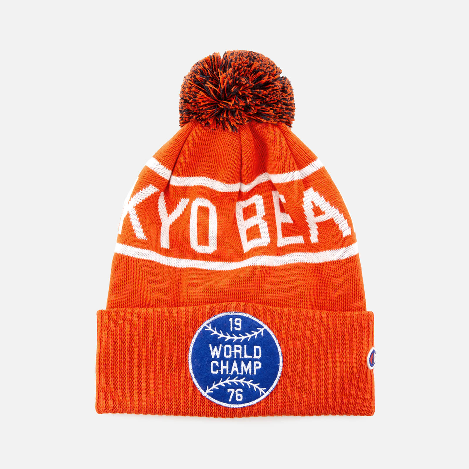 0d709f6c840a2 Champion X Beams Men s Beanie Cap - Orange - Free UK Delivery over £50