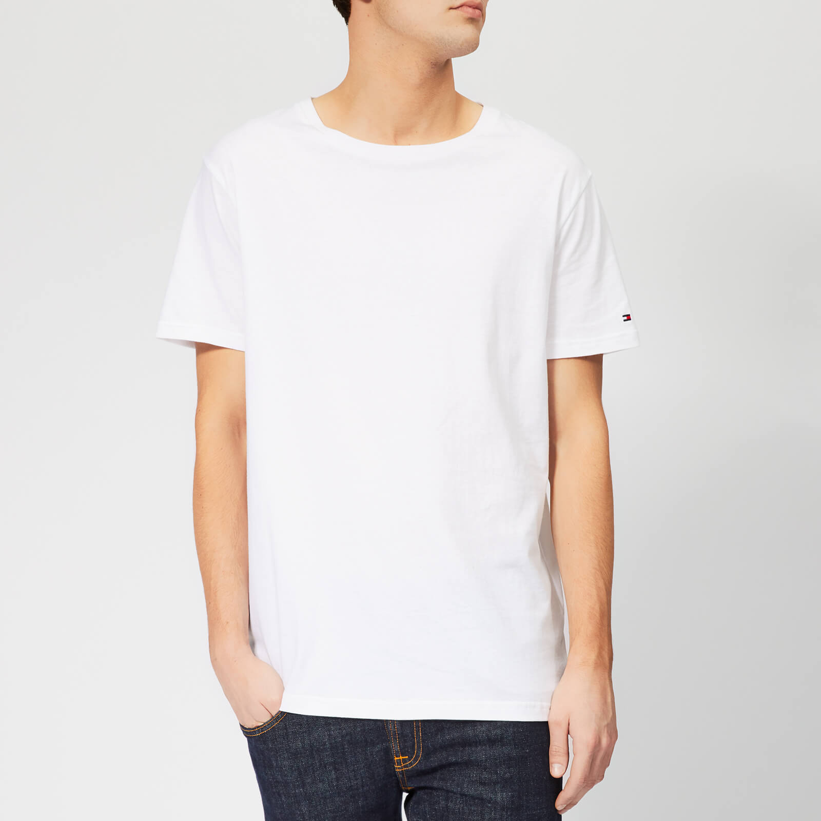tomy Short Sleeve Crew Neck T-shirts For Mens