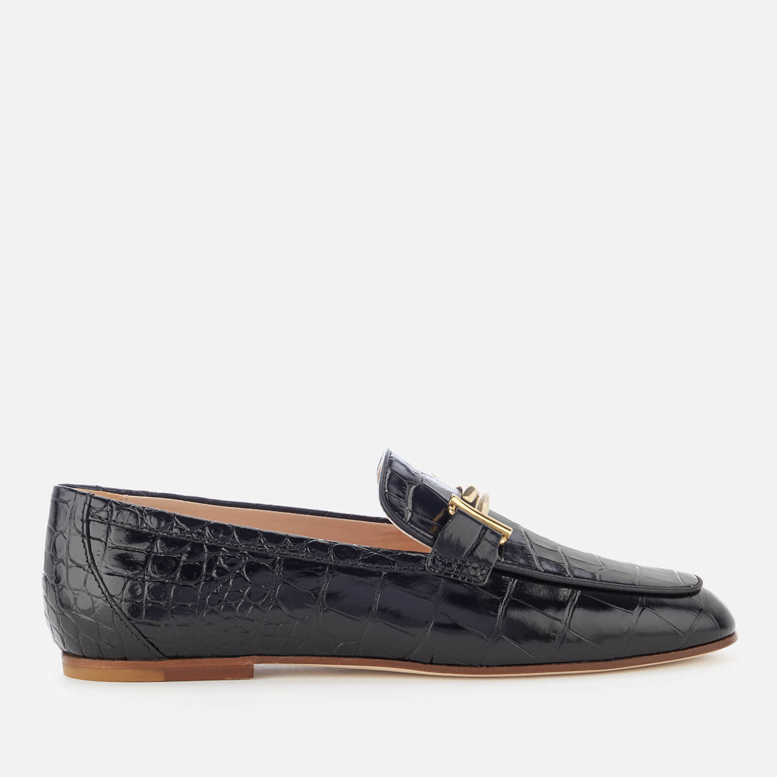673997d514b Tod s Women s Leather Loafers - Black Tod s Women s Leather Loafers - Black