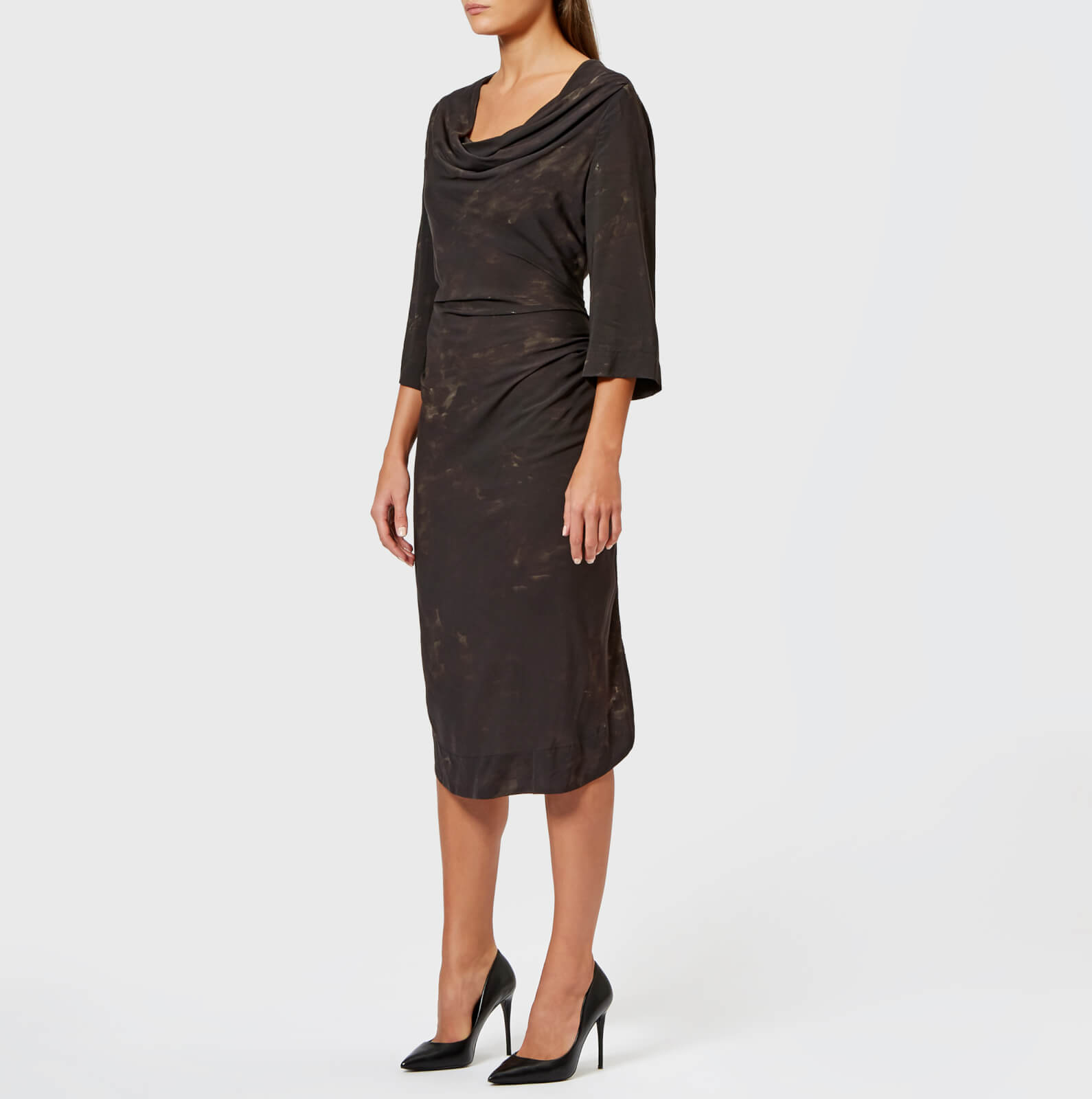 b7835e6e103b Vivienne Westwood Anglomania Women's Virginia Dress - Black - Free UK  Delivery over £50