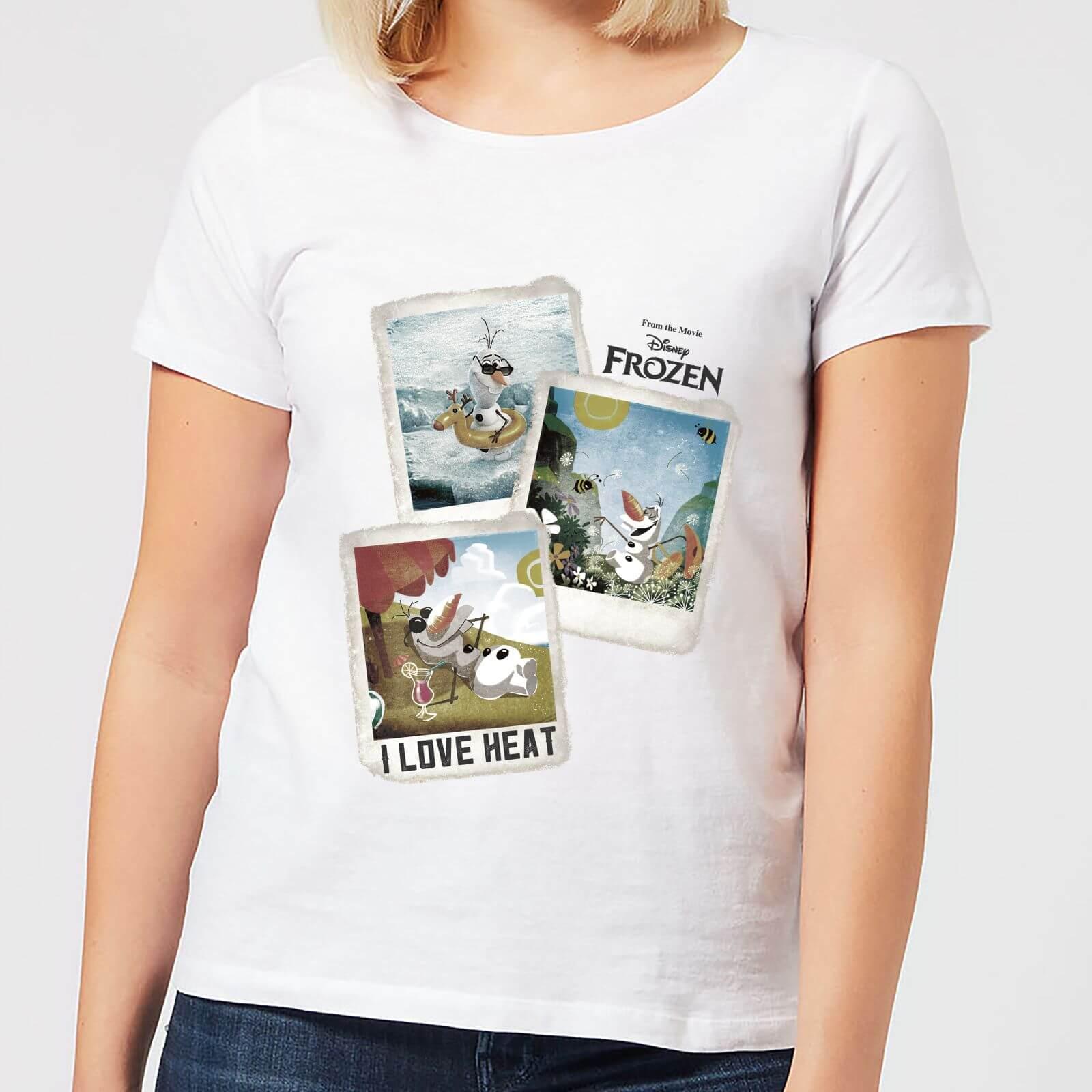 8cfcdd3b5846f2 Frozen Olaf Polaroid Women's T-Shirt - White Clothing   Zavvi