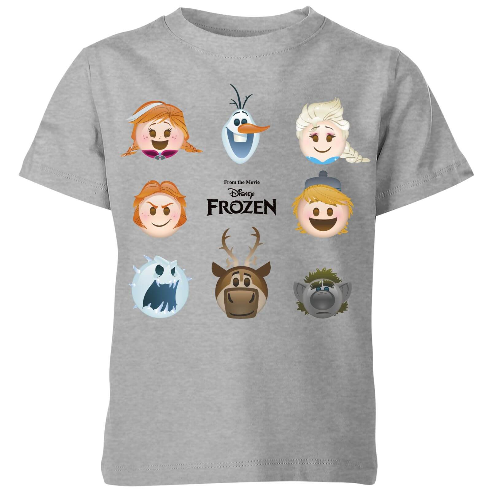 Frozen Emoji Heads Kids