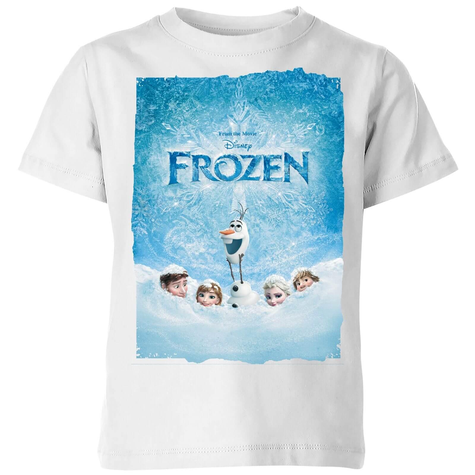 3106878c0 Camiseta Disney Frozen Póster - Niño - Blanco Clothing