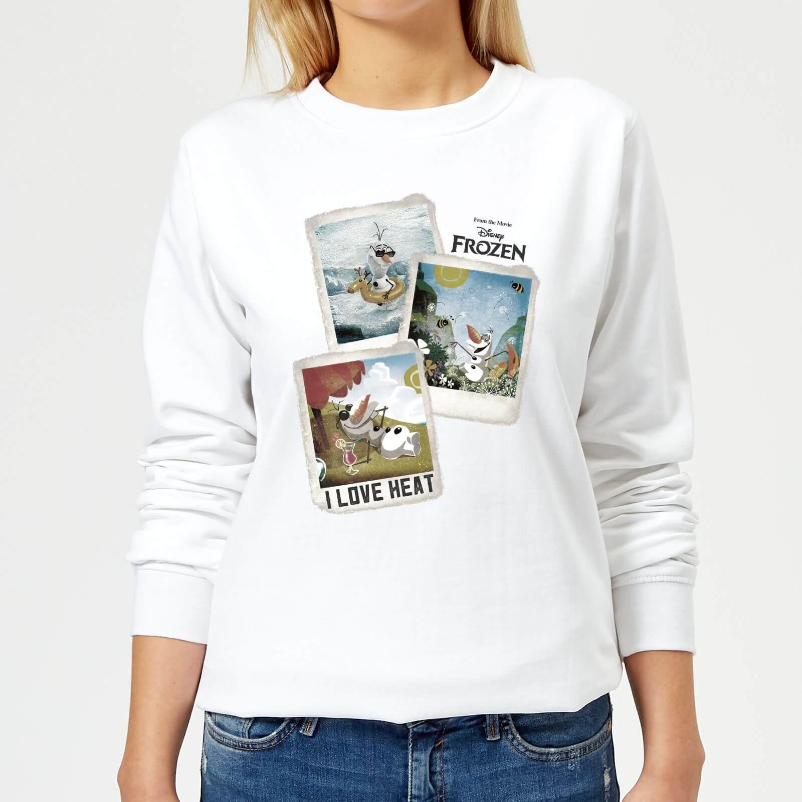 e5ab7a5f812171 Frozen Olaf Polaroid Women's Sweatshirt - White   IWOOT
