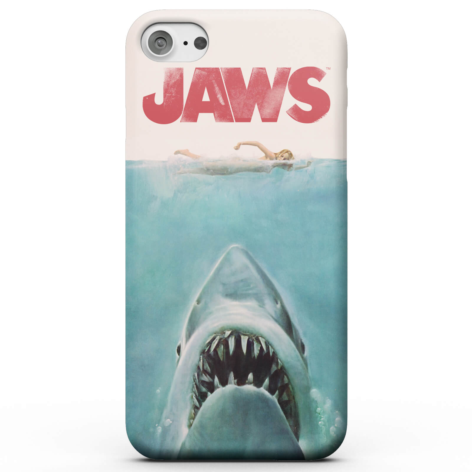 JAWS POSTER iphone case