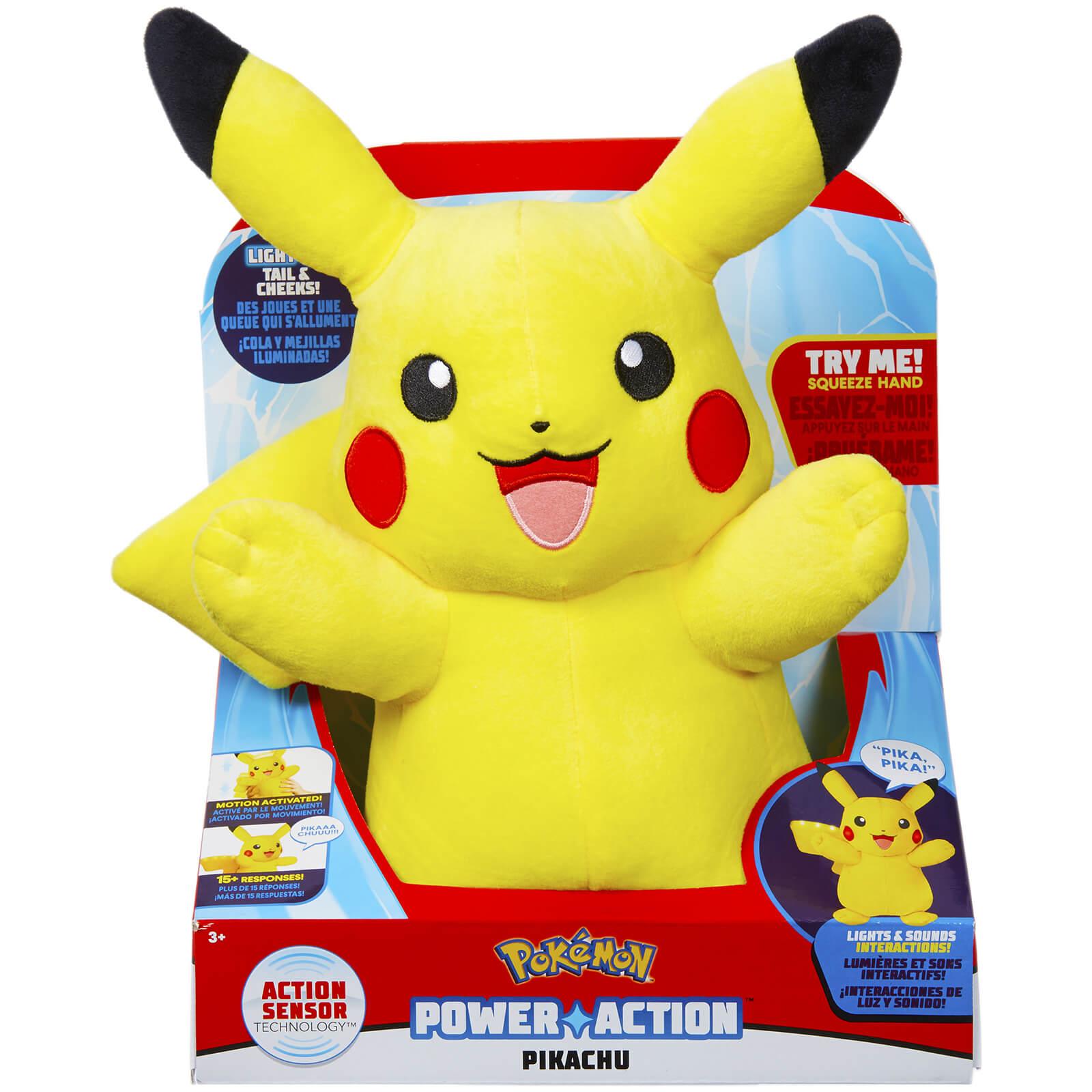 a8fb8922f53b1 Pokemon Power Action Pikachu Toys   Zavvi