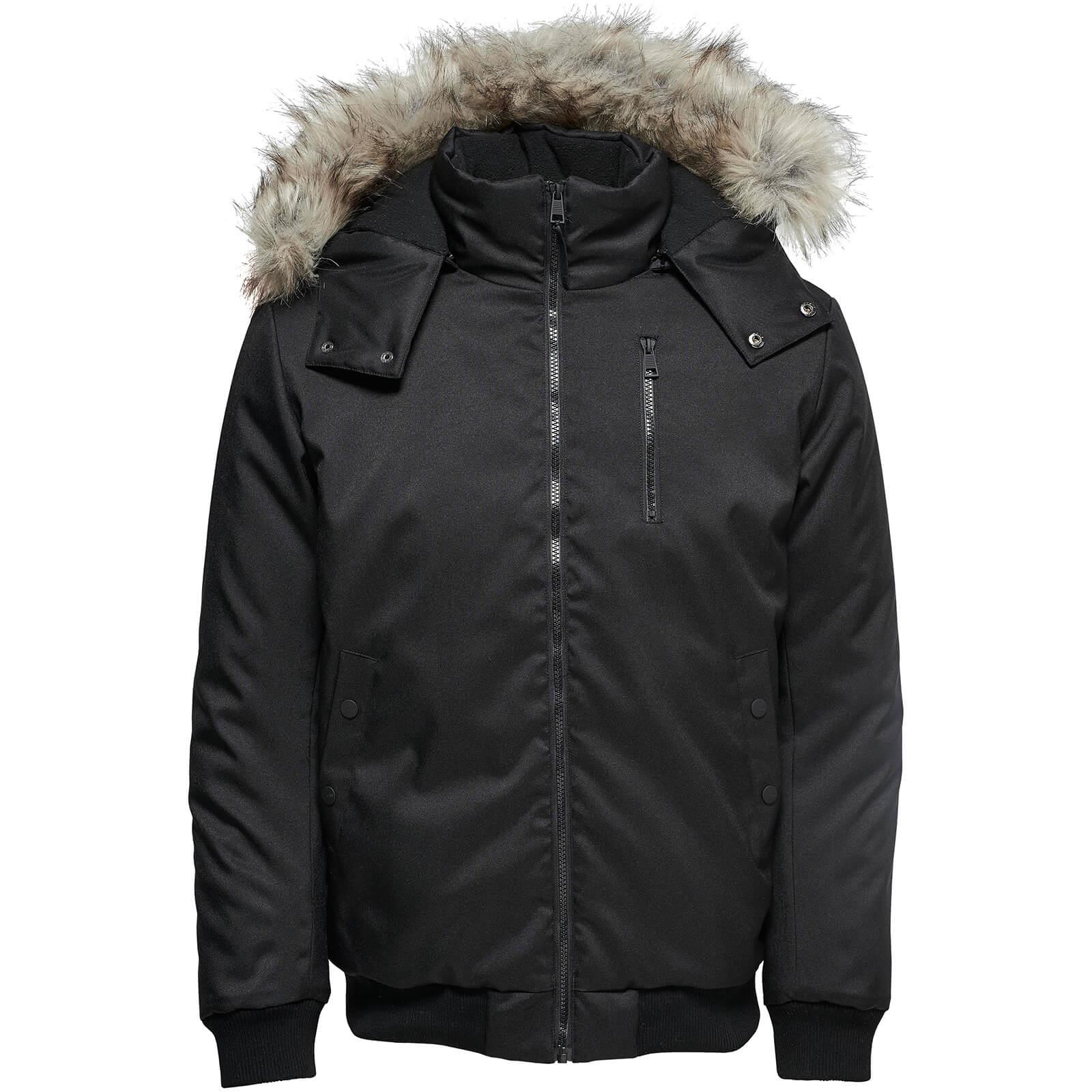 28a8d81c7a1 Only & Sons Men's Stanny Padded Bomber Jacket - Black Clothing   Zavvi