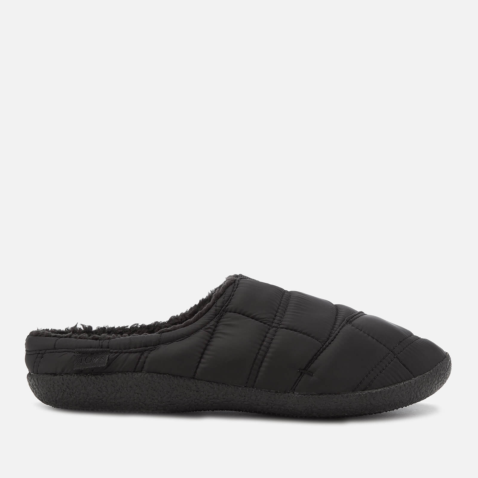 3ac315defd7 TOMS Men s Berkeley Quilted Slippers - Black Clothing