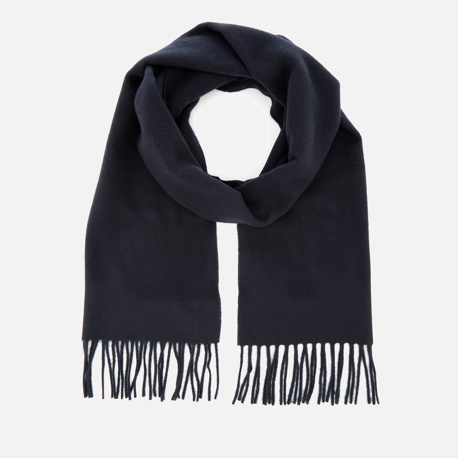9eaa3e6f74c A.P.C. Men s Echarpe Remy Scarf - Marine - Free UK Delivery over £50