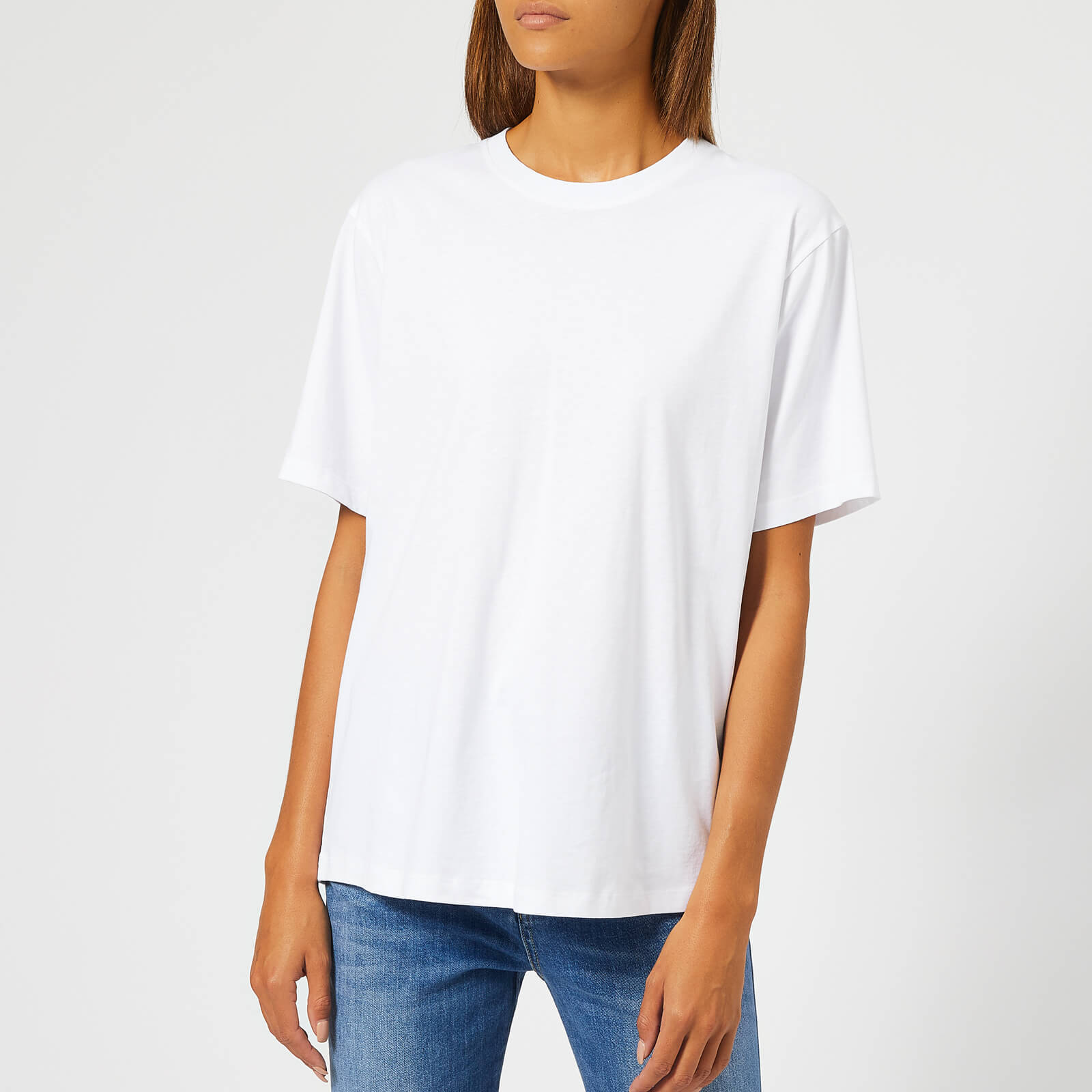 6243d89d9088 Victoria, Victoria Beckham Women's The Victoria T-Shirt - White - Free UK  Delivery over £50