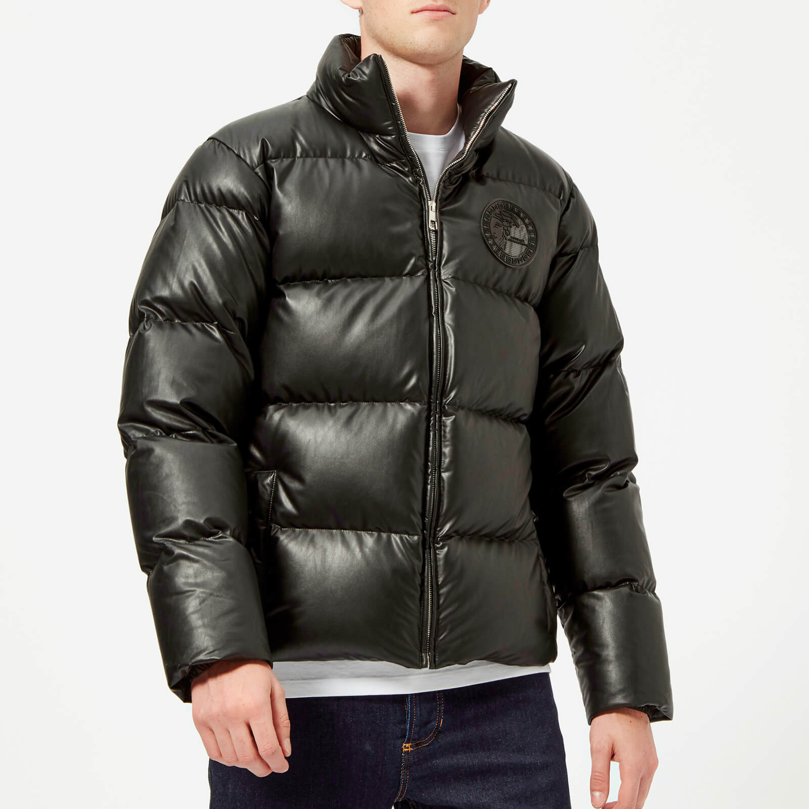 10b1ea0b Versace Collection Men's Padded Down Jacket - Nero
