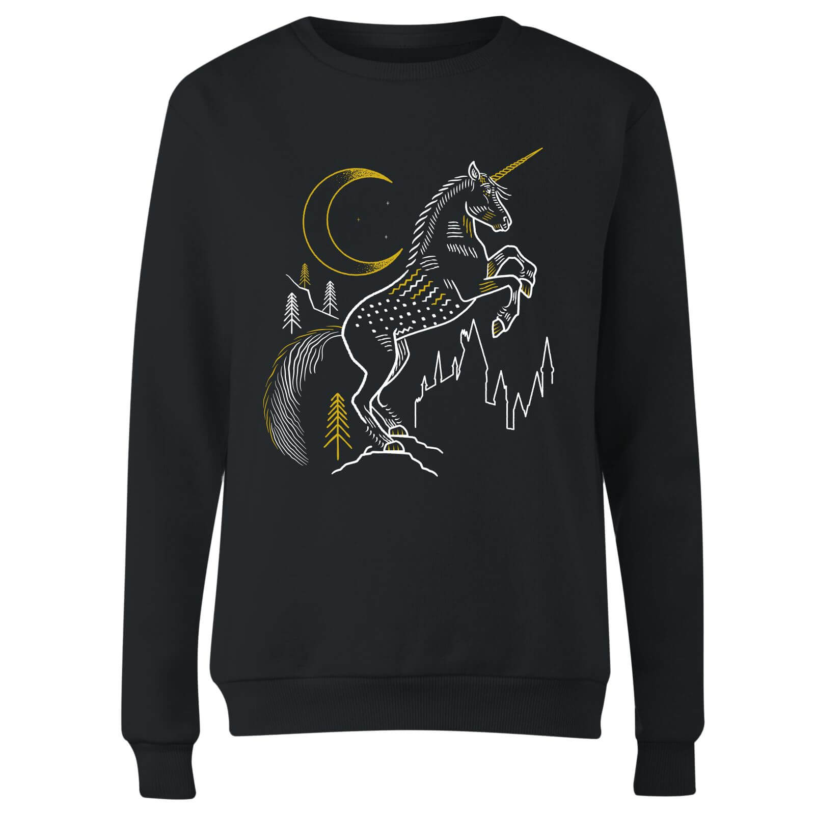 Harry Potter Unicorn Line Art Women
