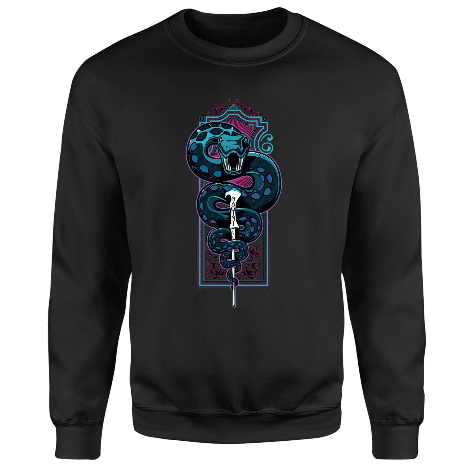 Harry Potter Neon Basilisk Sweatshirt - Black
