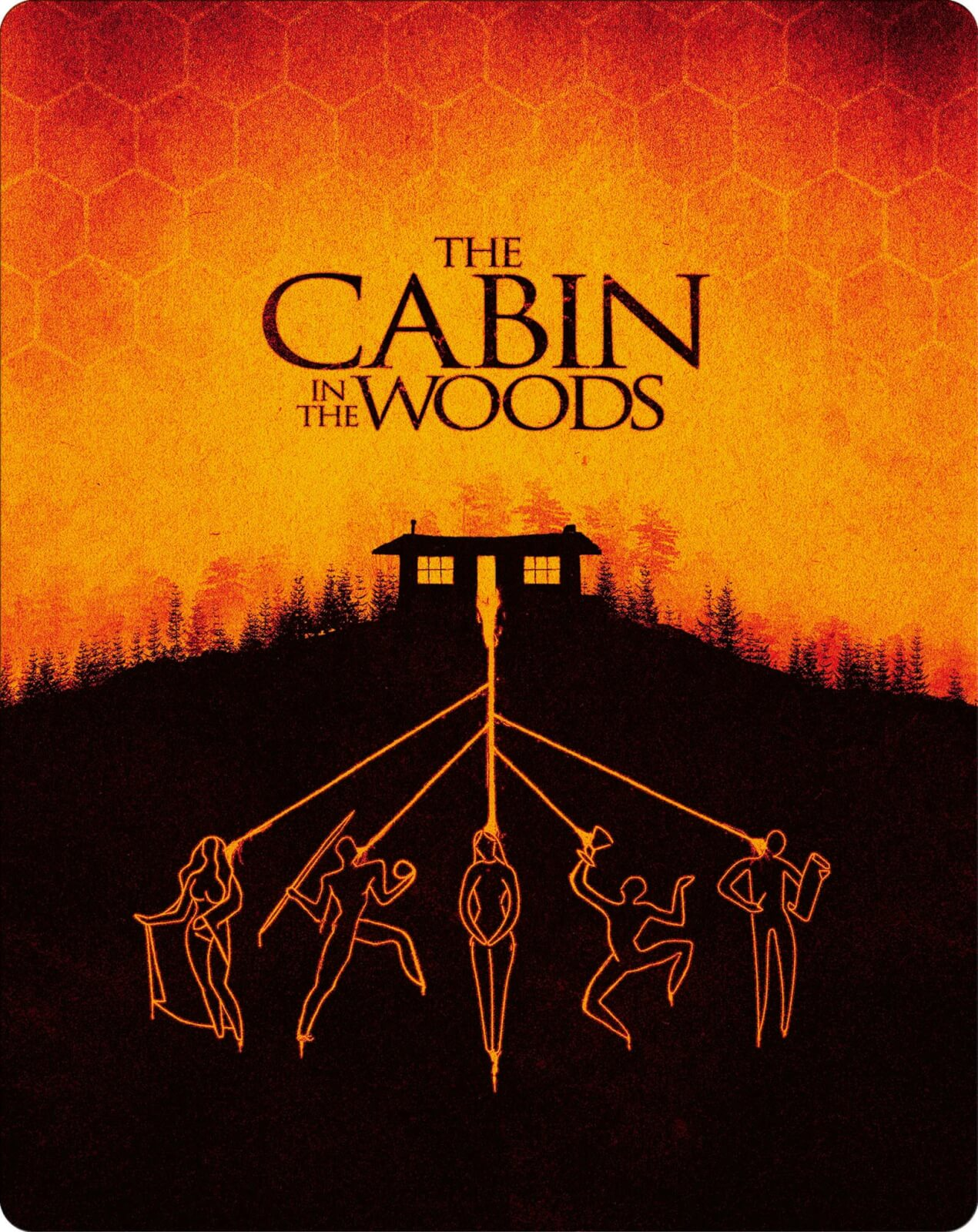 Cabin In The Woods 4K Ultra HD (Includes 2D Version) - Zavvi Exclusive Steelbook