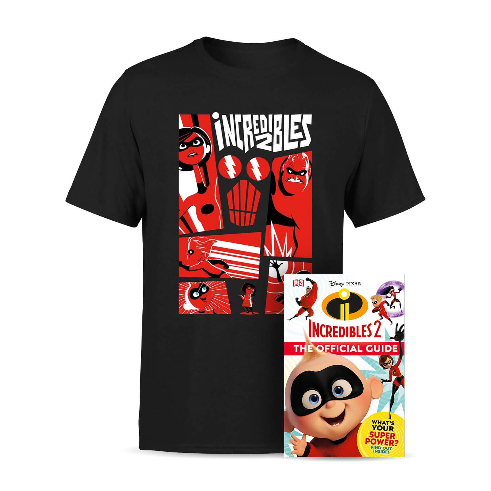 Disney Pixar The Incredibles Book Bundle