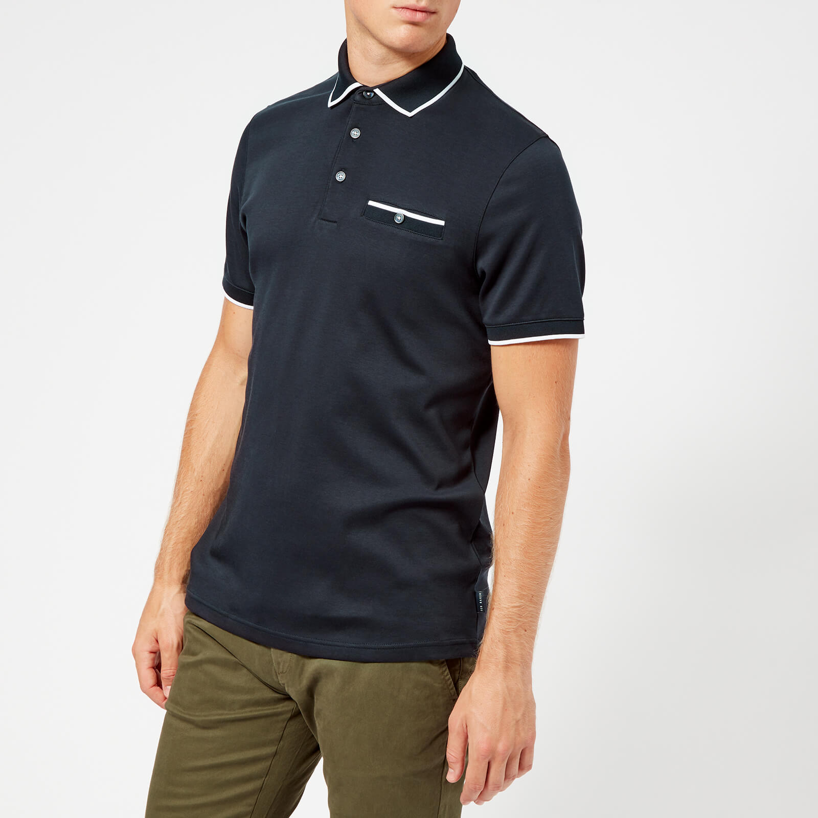 ada37220d Ted Baker Men s Jelly Polo Shirt - Navy Clothing