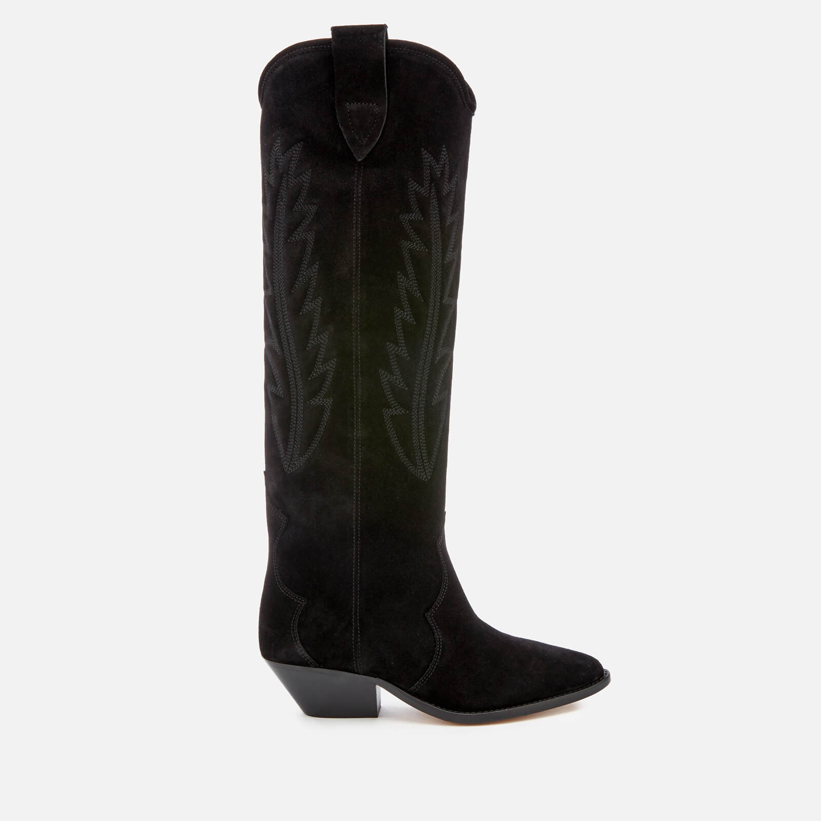 967c9b6a1a1 Isabel Marant Women s Denzy Suede Knee High Boots - Black - Free UK  Delivery over £50