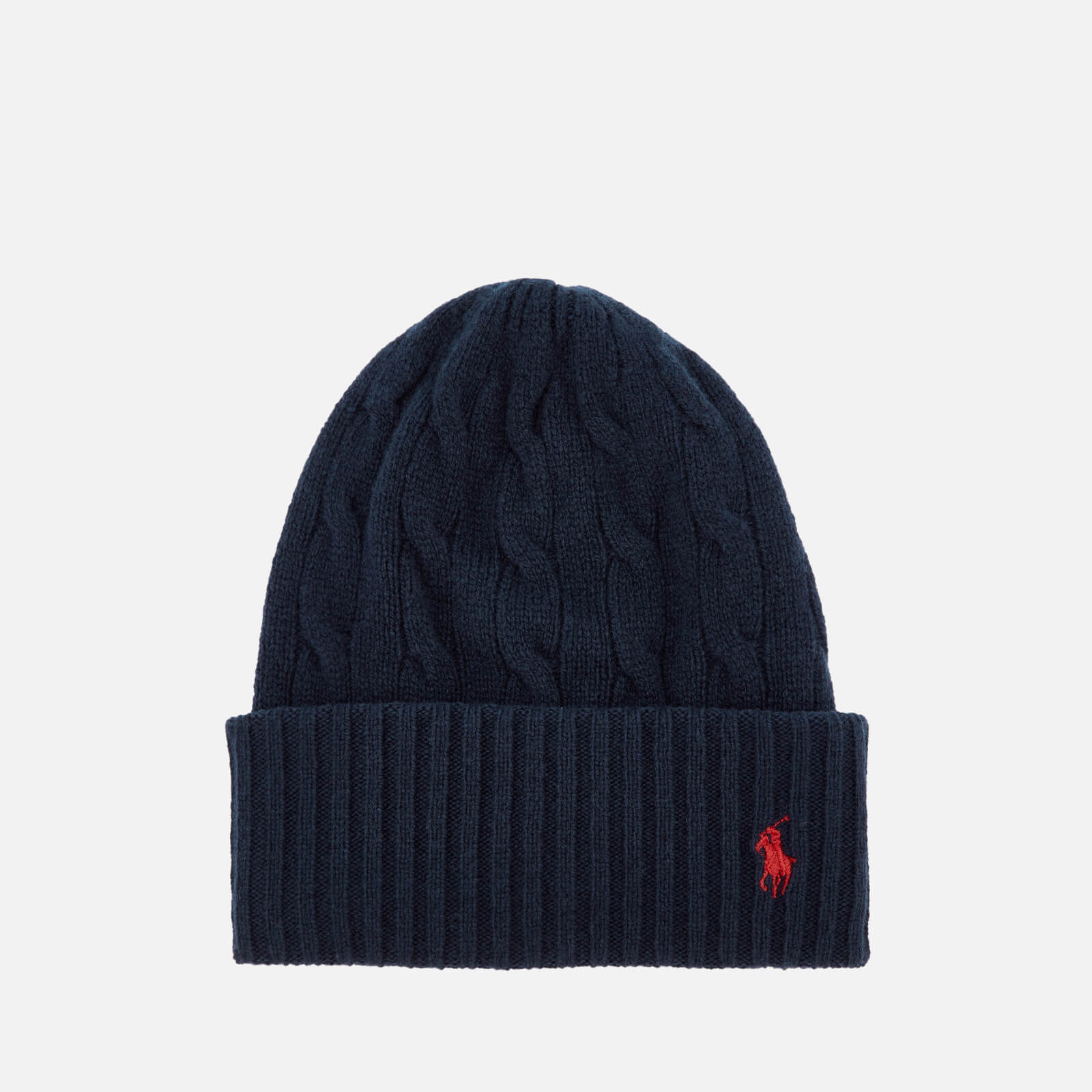 82fadd40d56eb Polo Ralph Lauren Women s Wool Hat - Hunter Navy - Free UK Delivery over £50