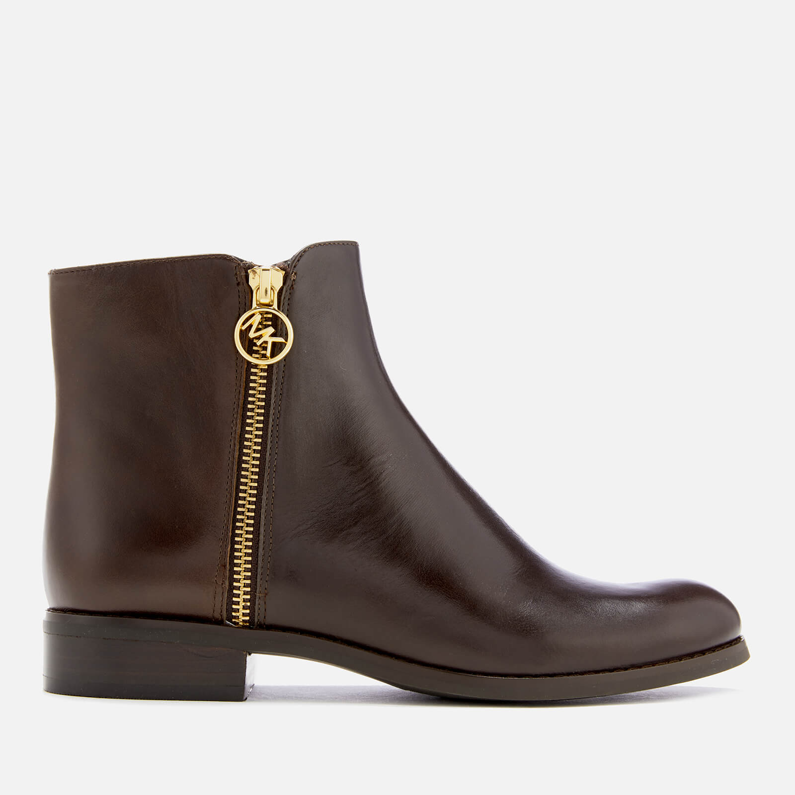 6607bd192833 MICHAEL MICHAEL KORS Women s Jaycie Flat Ankle Boots - Nutmeg Clothing