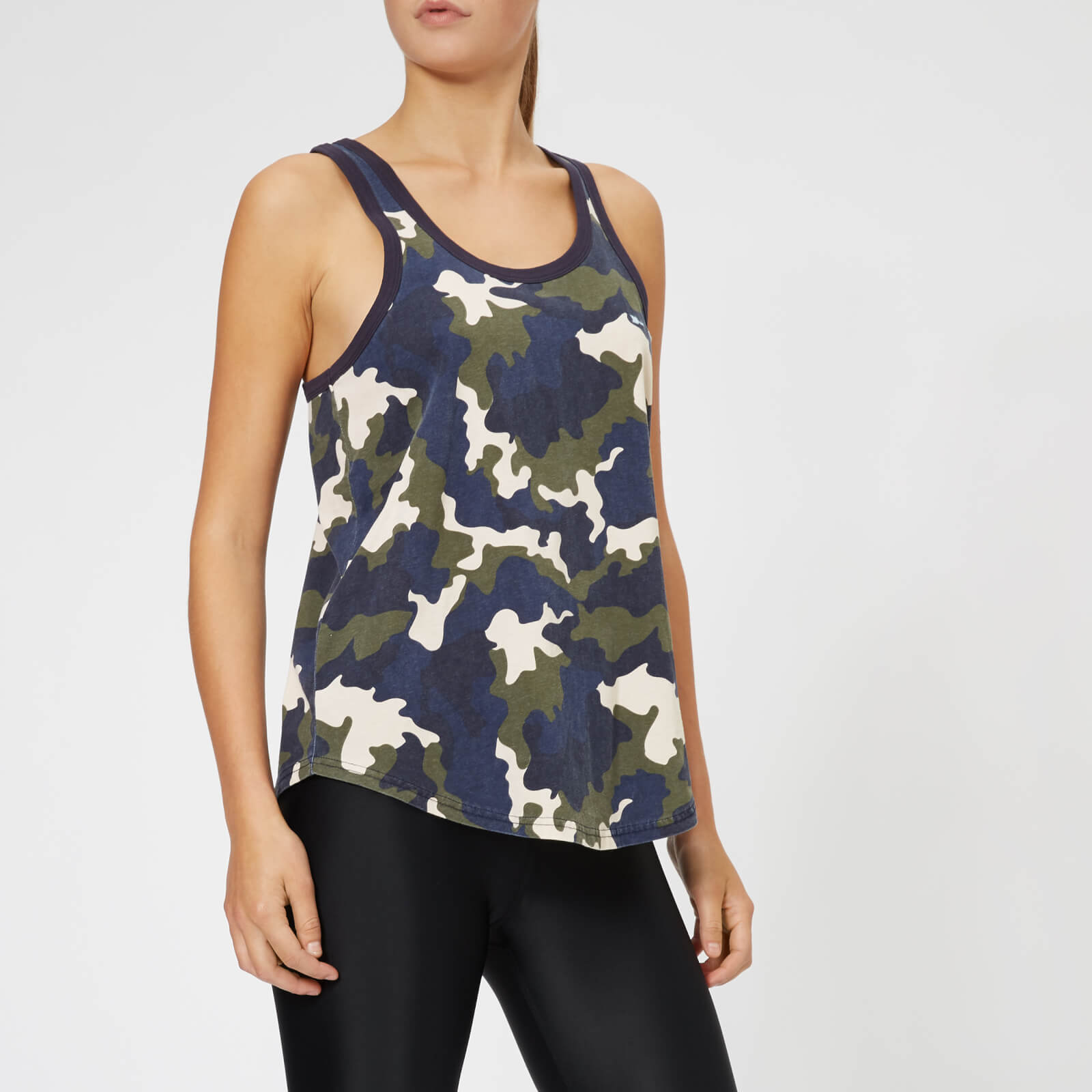 4b1f969adf703 The Upside Women's French Camo Issy Tank Top - Camo Print - Free UK  Delivery over £50
