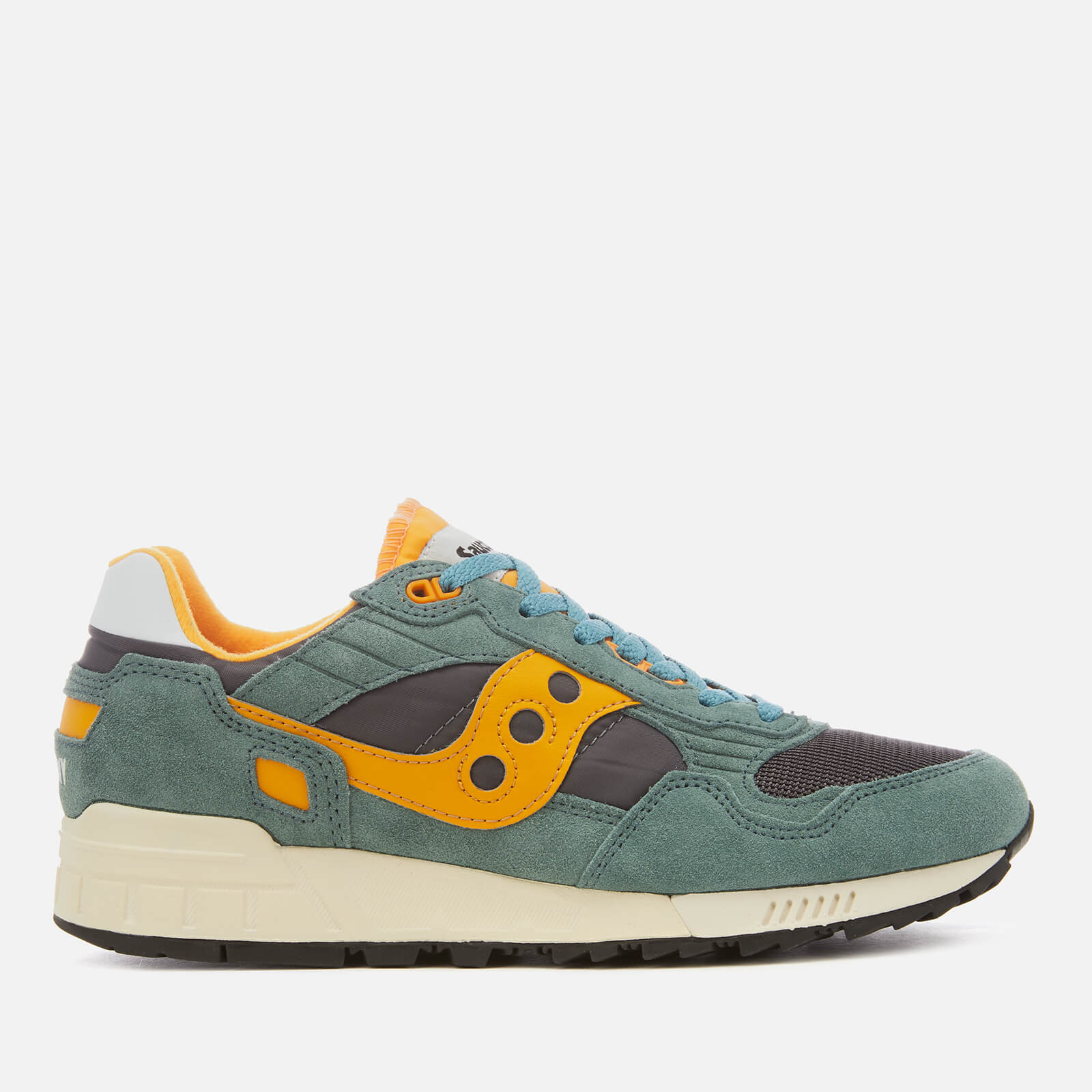 new arrival 54331 fbe19 Saucony Men's Shadow 5000 Vintage Trainers - Teal/Blue/Orange