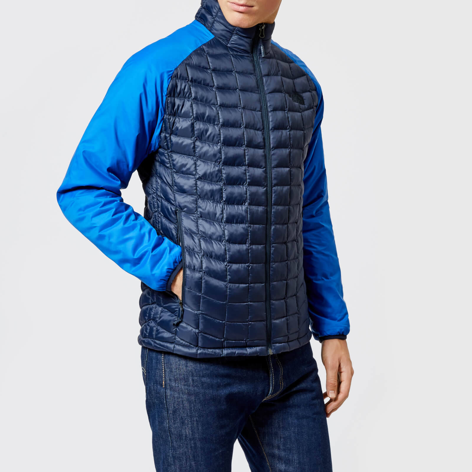 d51d024a66 ... The North Face Men's Thermoball Sport Jacket - Turkish Sea/Urban Navy