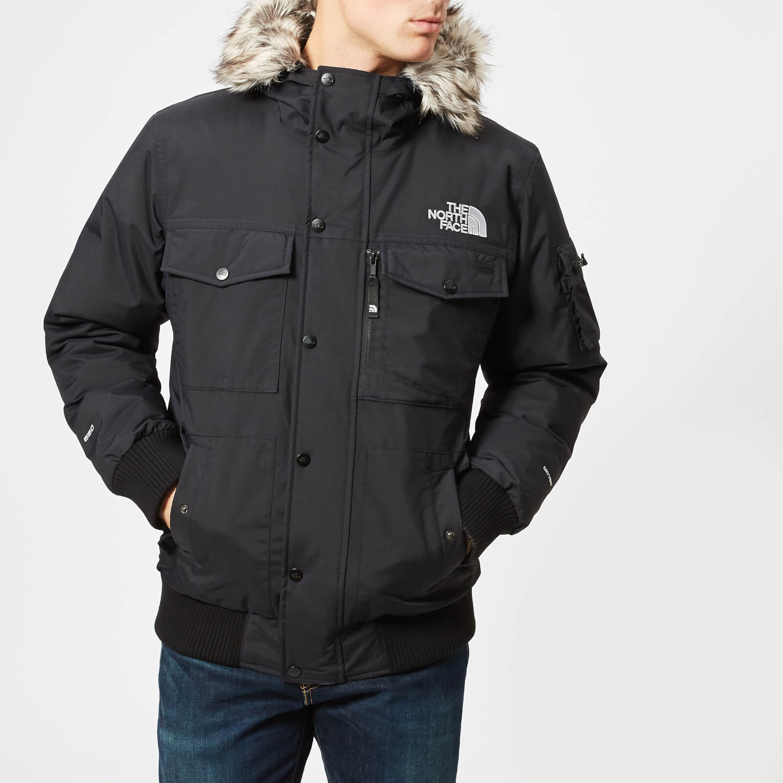 acccb145f67f The North Face Men s Gotham Jacket - TNF Black Clothing