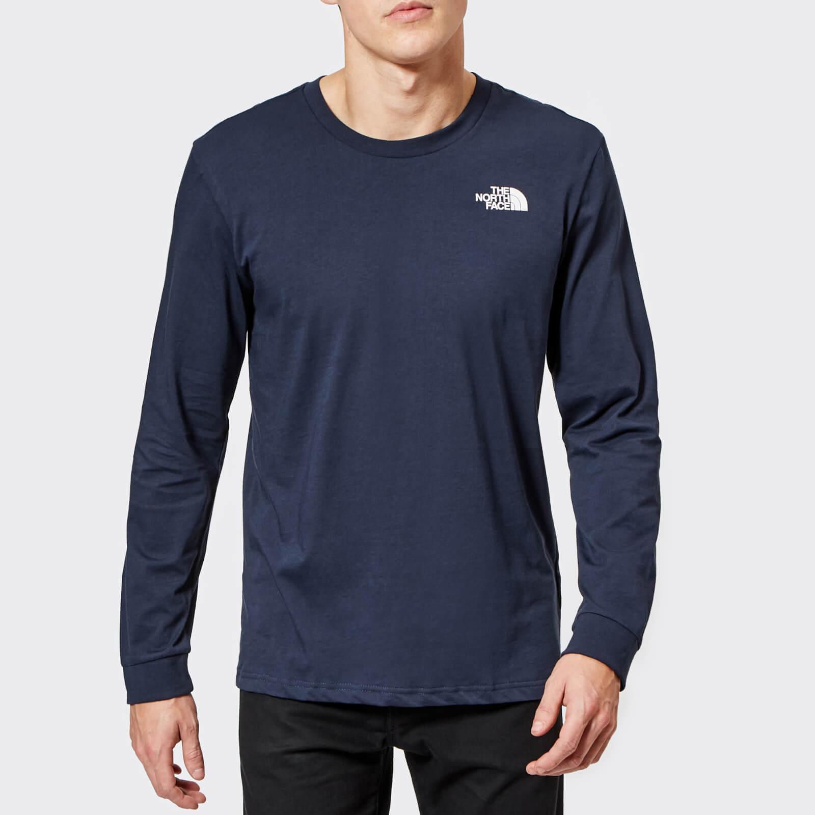 b9c87fbcd The North Face Men's Long Sleeve Simple Dome T-Shirt - Urban Navy