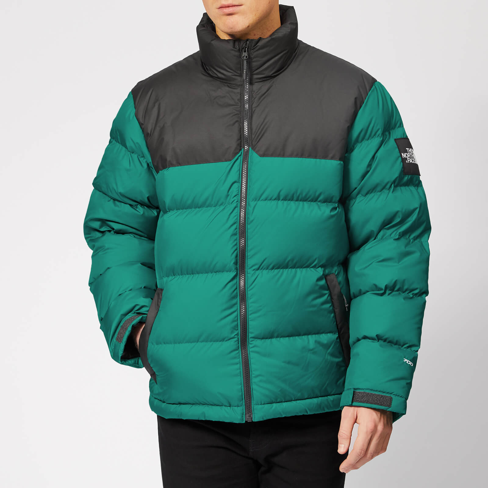 e8f1efc412 The North Face Men s 1992 Nuptse Jacket - Everglade Asphalt Grey - Free UK  Delivery over £50