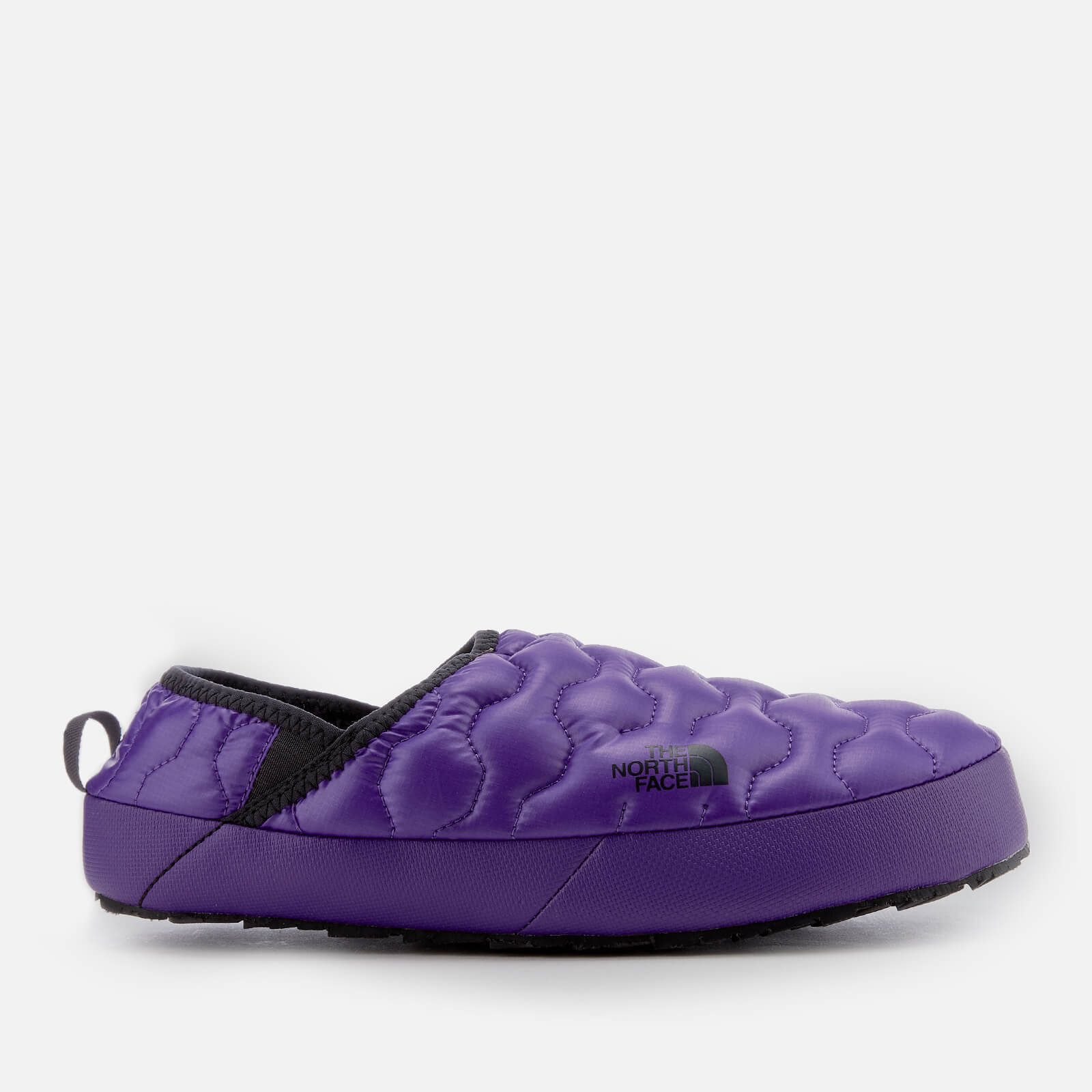 1e8803ba9 The North Face Men's Thermoball Traction Mule IV Slippers - Shiny  Tillandsia Purple/Phantom Grey