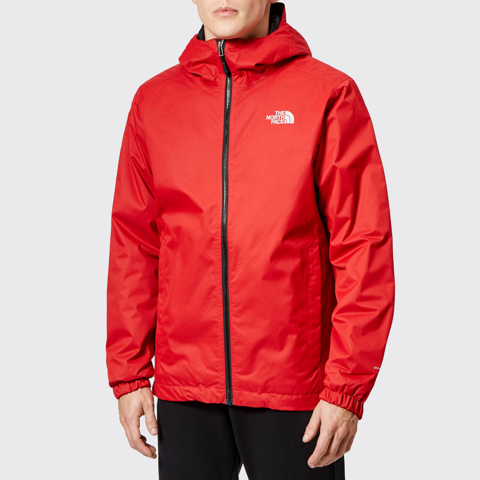 e1cf6ef84 The North Face Men's Quest Insulated Jacket - Rage Red Black Heather