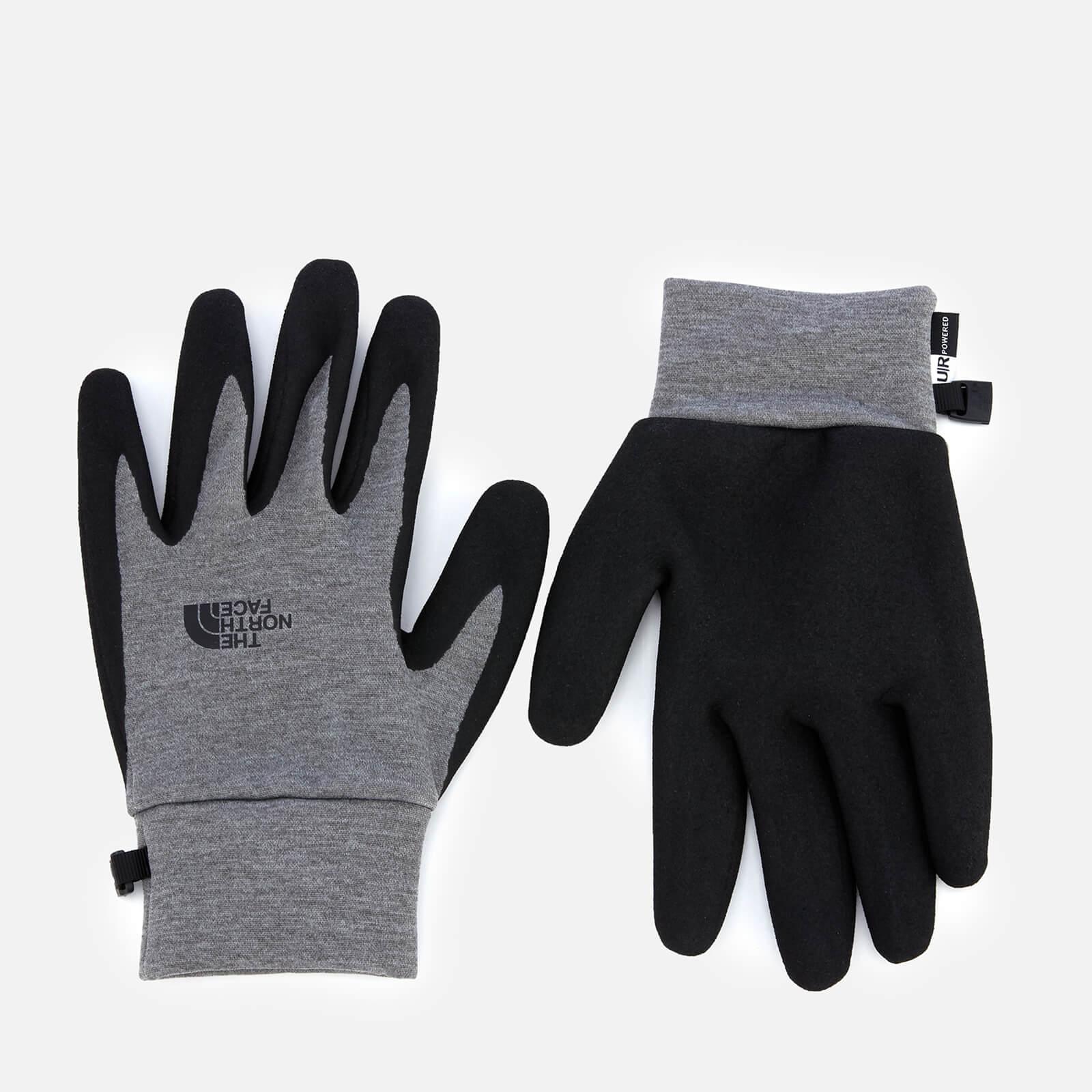 dfe9c587e The North Face Etip Grip Gloves - Medium Grey Heather