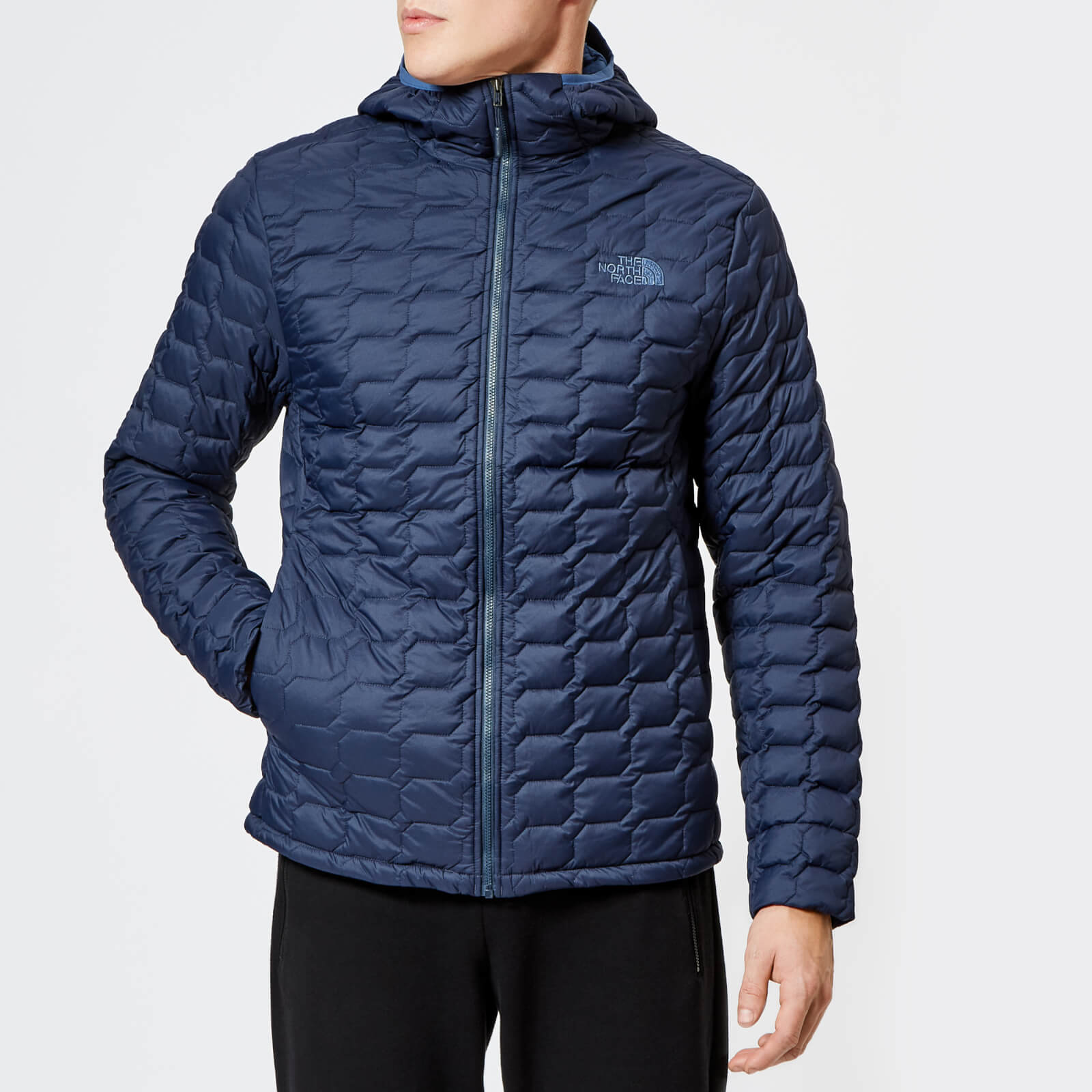 bf139b620 The North Face Men's Thermoball Hooded Jacket - Urban Navy Matte