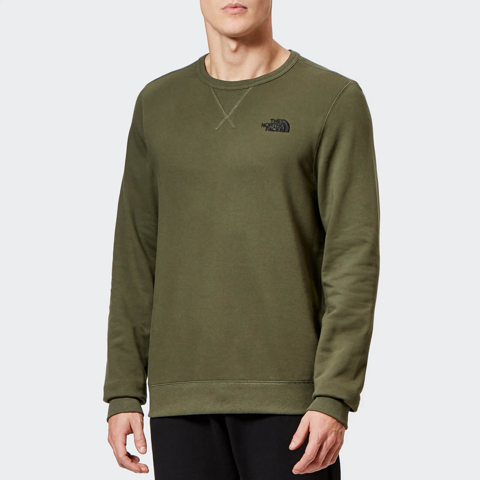 67348cd5a The North Face Men's Street Fleece Pullover Sweatshirt - New Taupe Green