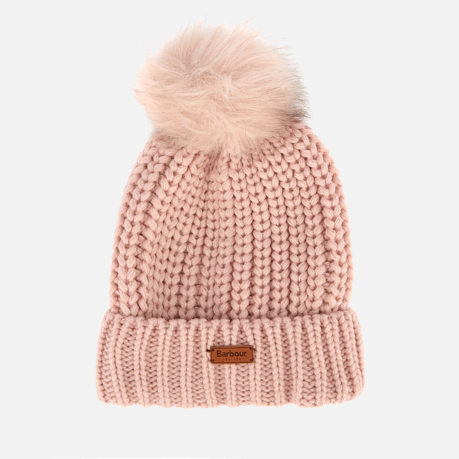 2a6acbf9 Barbour Women's Saltburn Beanie - Pink - Free UK Delivery over £50