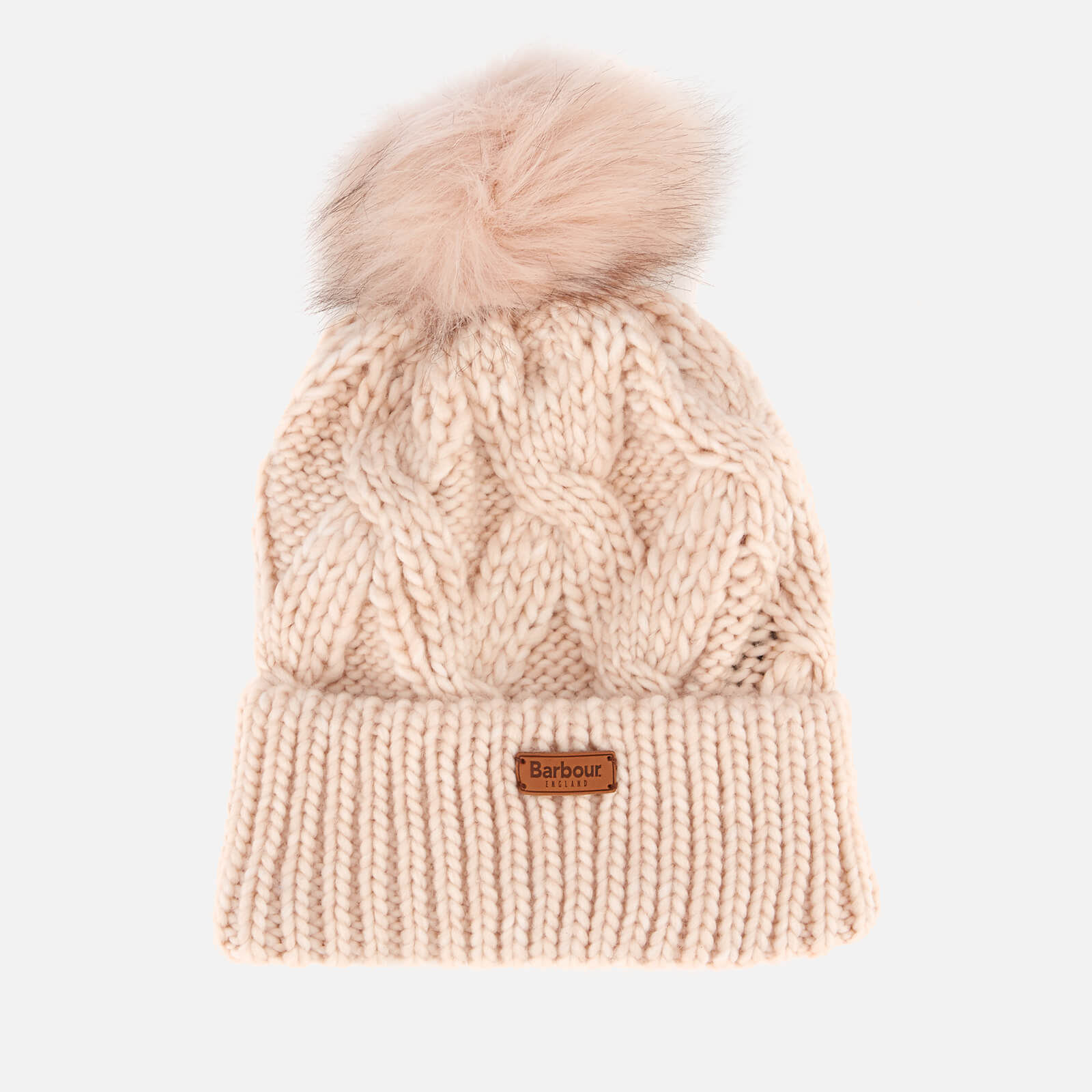 a5a186fda2756 Barbour Women s Bridport Pom Beanie - Pink Womens Accessories ...