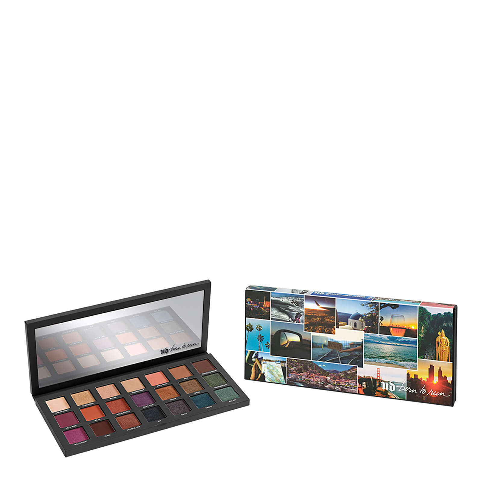 Urban Decay Born To Run Eyeshadow Palette | Free Shipping | Lookfantastic