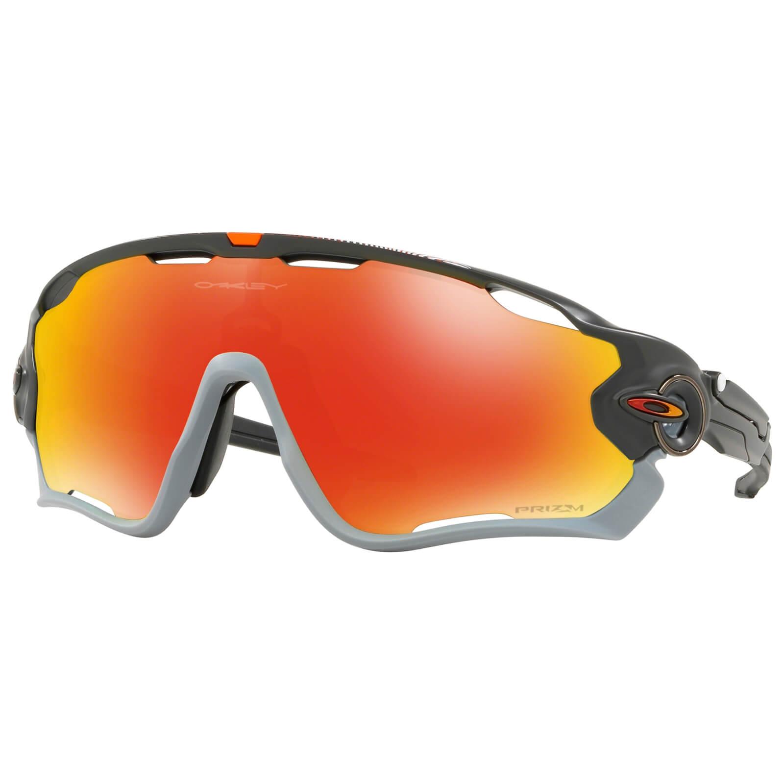 b809b06676 Oakley Jawbreaker Sunglasses - Matt Carbon Prizm Ruby