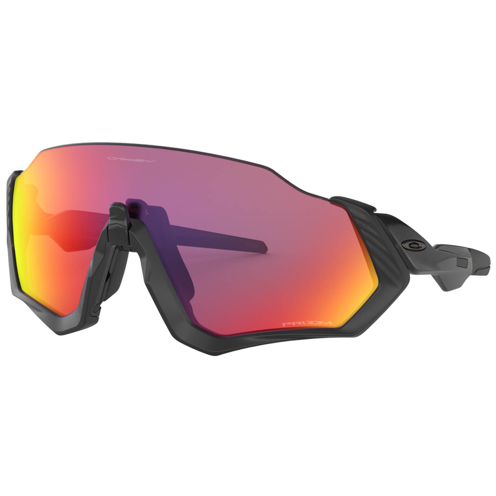 cb5953ccf1cd9 Oakley Flight Jacket Sunglasses - Polished Black Prizm Road ...