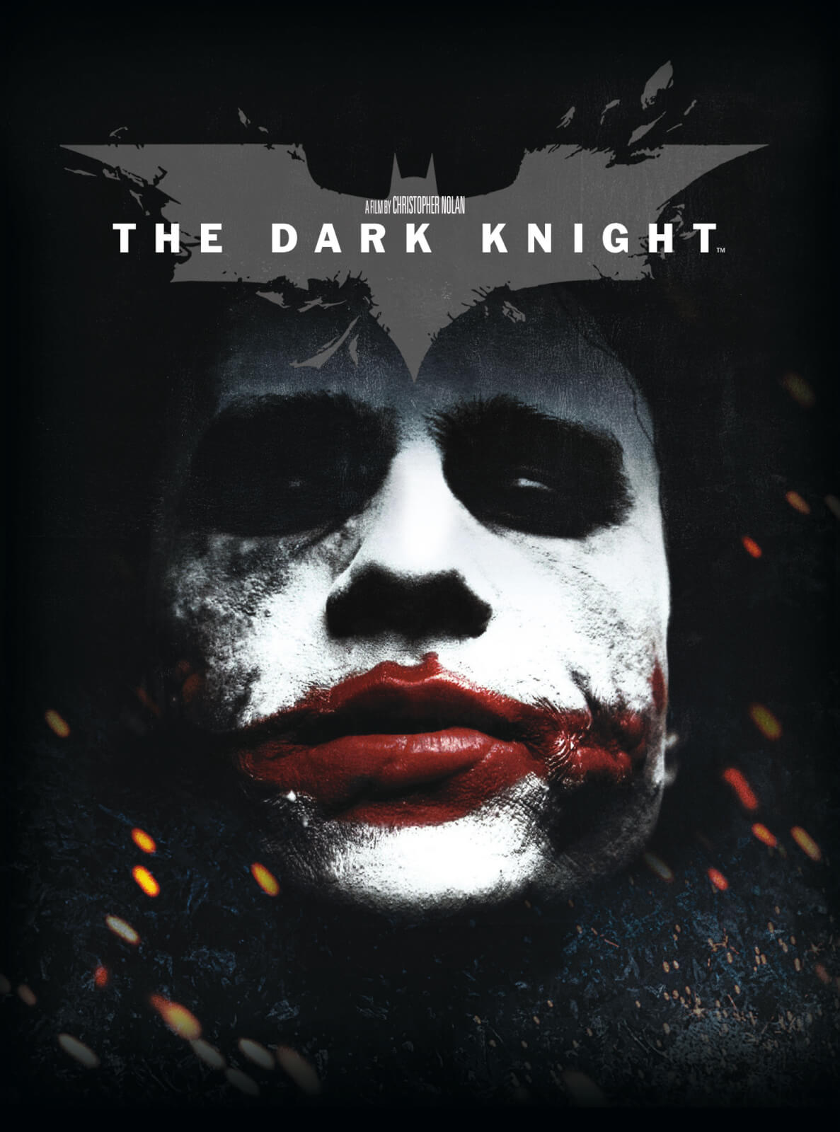 Image result for the dark knight movie poster 4k