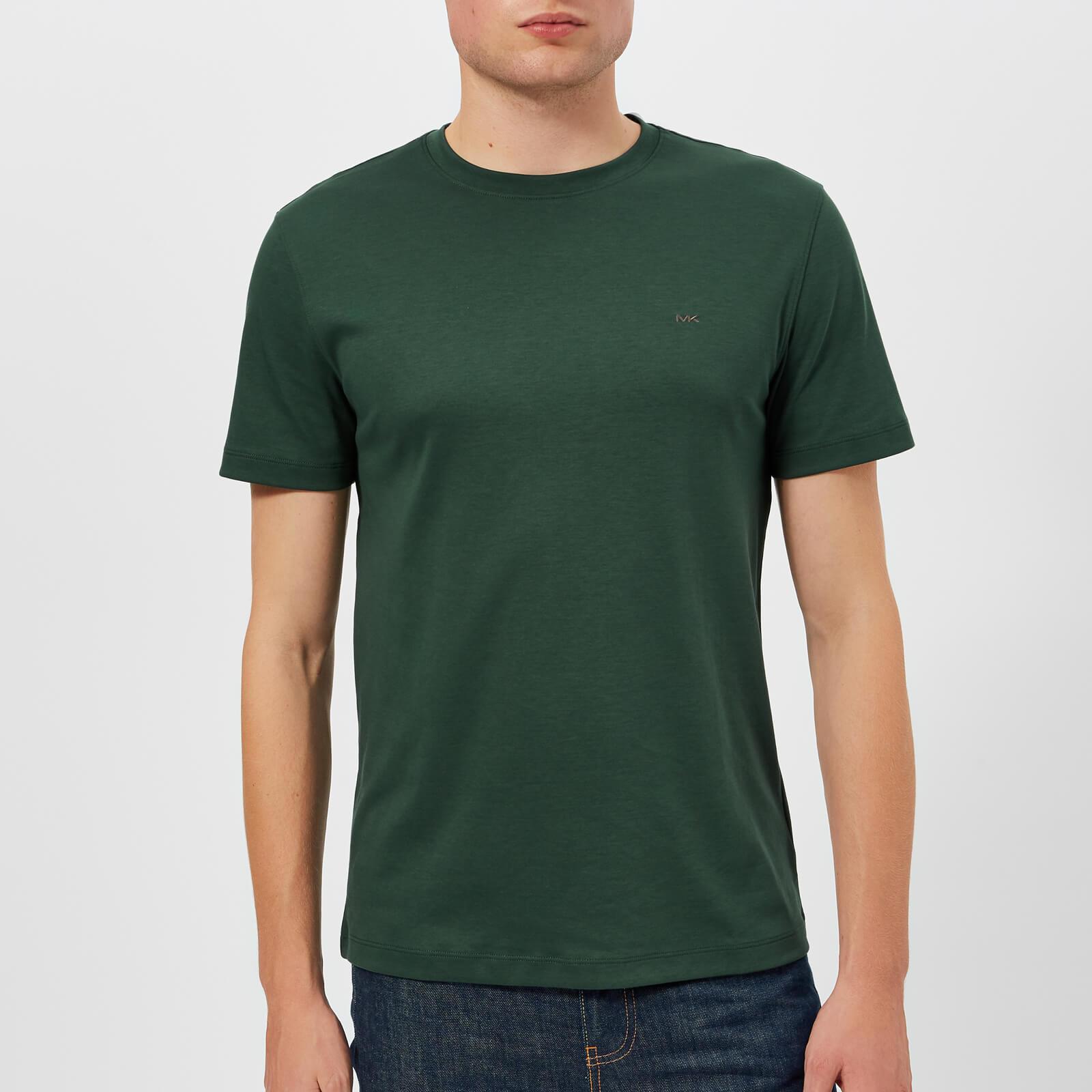 a645705697e Michael Kors Men s Sleek Crew Neck T-Shirt - Spruce Green Clothing ...