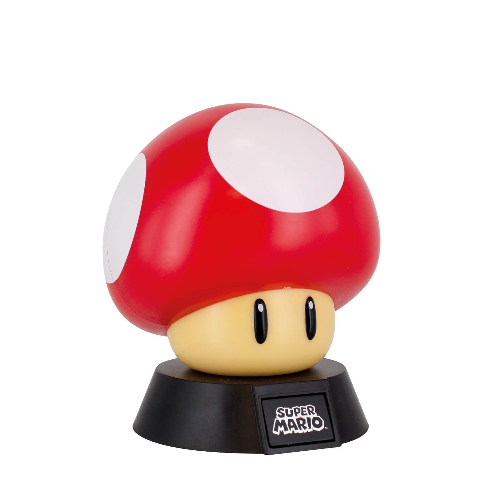 Super Mario Bros Super Mushroom Lamp Nintendo Official Uk Store