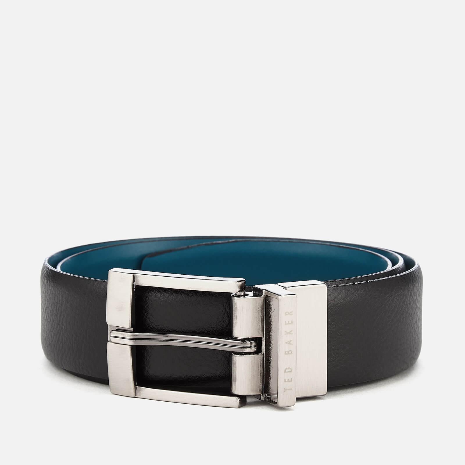 b8846e301 Ted Baker Men s Longas Leather Belt - Black Mens Accessories ...