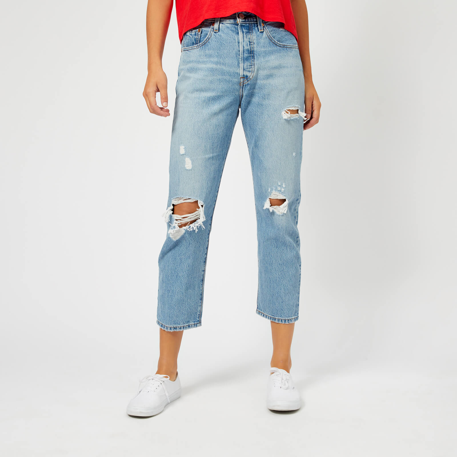 3b16bc33757 Levi's Women's 501 Crop Jeans - Authentically Yours - Free UK Delivery over  £50