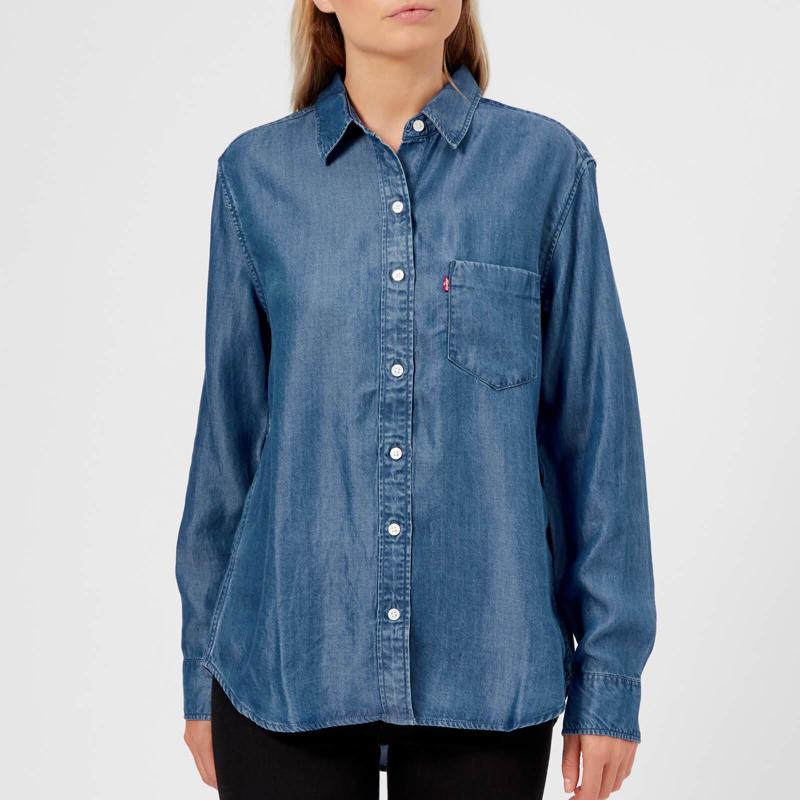 35fc7e8306df8d Levi's Women's Ultimate Boyfriend Shirt - Medium Authentic Womens Clothing  | TheHut.com