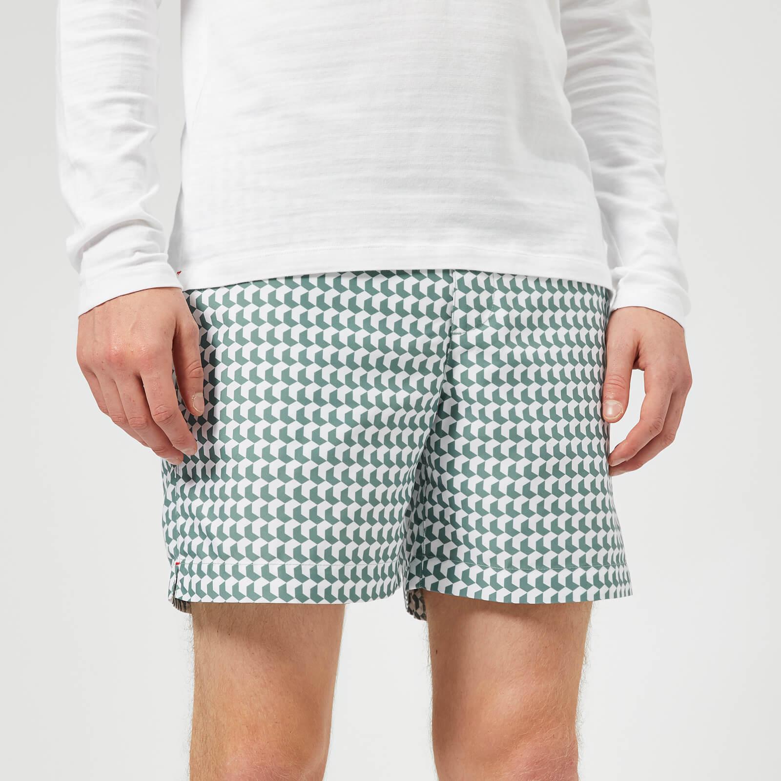 ce5090d6ef Orlebar Brown Men's Bulldog Aruba Swim Shorts - Blue - Free UK Delivery  over £50